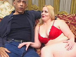 Fat babe Solsa gets a giant interracial facial
