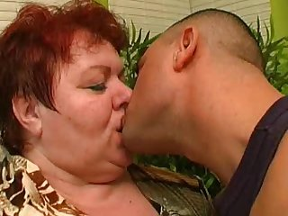 Check out that cock slamming her fat cherry