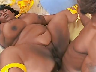 His cock gets hard for fat black girls