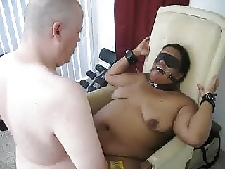 C being fucked in restraints 2