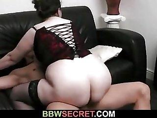 Bbw seduces married man into sex