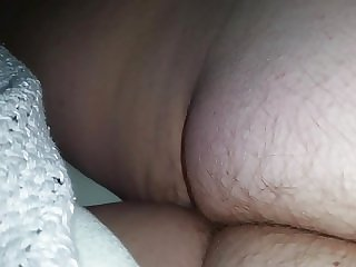 wifes hairy ass cheeks in the middle of the night